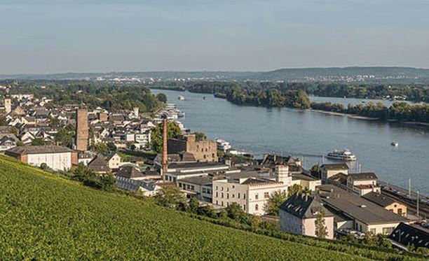 Väkivallanteko tapahtui Rüdesheimin kaupungissa läntisessä Saksassa.