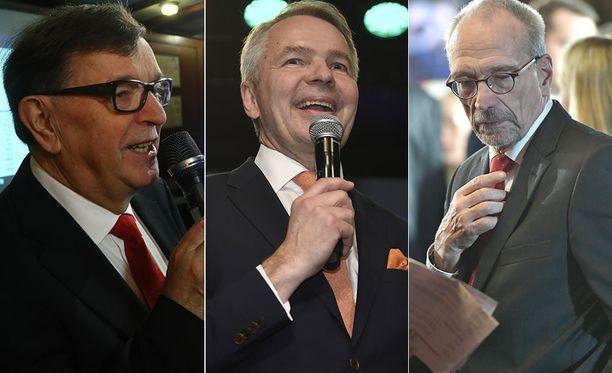 Presidentinvaaleissa vihreiden Pekka Haaviston ääni maksoi vähiten.