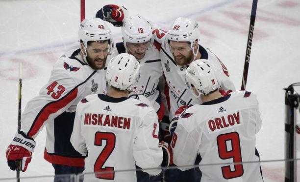 Washington Capitals voitti seurahistoriansa ensimmäisen Stanley Cupin.