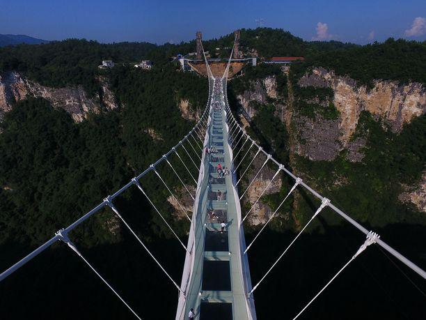 Tätä ennätykselliseltä sillalta toivotaan. Totuus vain tuppaa olemaan jotain aivan muuta.