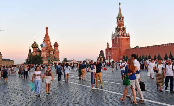 Moskova, kuvituskuva.