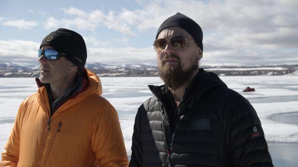 Leonardo käy myös Arktiksella, jossa ilmastonmuutoksen vaikutukset näkyvät.