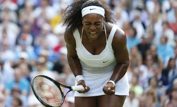 Serena Williams voitti Wimbledonin tennisturnauksen viime viikonloppuna.