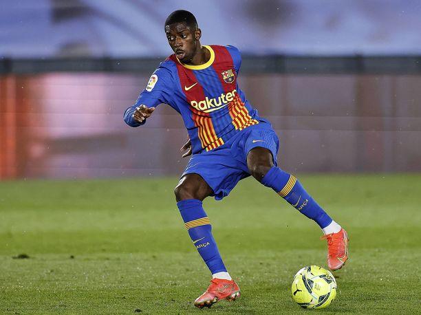 Ousmane Dembélé on fyysisesti paremmassa kunnossa kuin koskaan.