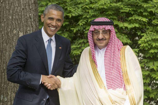 Prinssi Mohammed bin Nayef (oik.) oli tuttu vieras Washingtonissa.