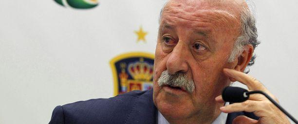 Vicente del Bosque teki alustavat MM-valintansa.