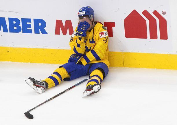 Ruotsin joukkue oli pettynyt puolivälierätappion jälkeen.