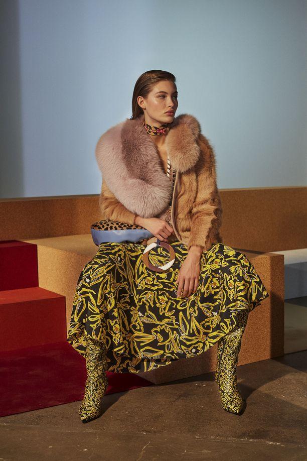 Diane Von Furstenberg  Autumn Winter 2017 Ready to Wear New York Fashion Week  All Over Press