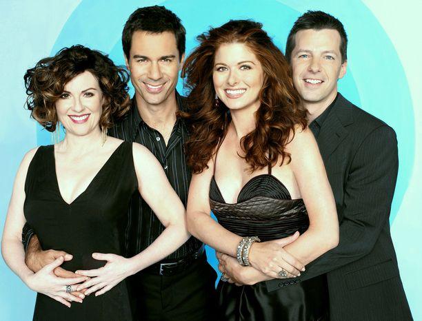 Will ja Grace -sarjaa tehtiin 11 tuotantokautta.