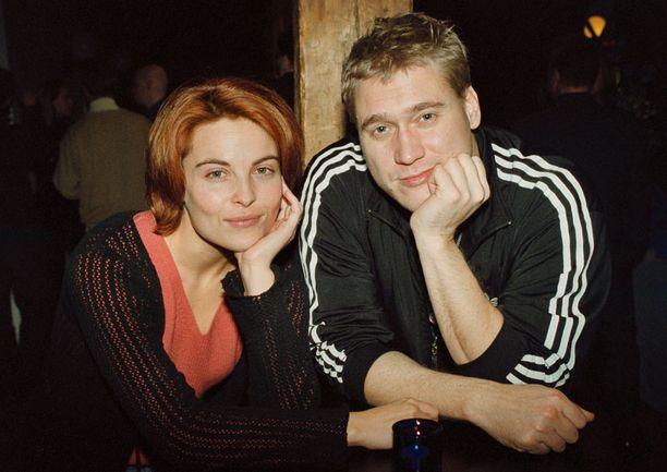 Samuli Edelmann ja Irina Björklund.