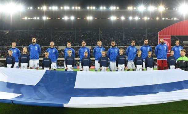 Suomi hakee paikkaa vuoden 2018 MM-kisoihin I-lohkosta.