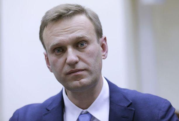 Oppositiojohtaja Aleksei Navalnyi ei saanut asettua ehdolle tulevissa presidentinvaaleissa.