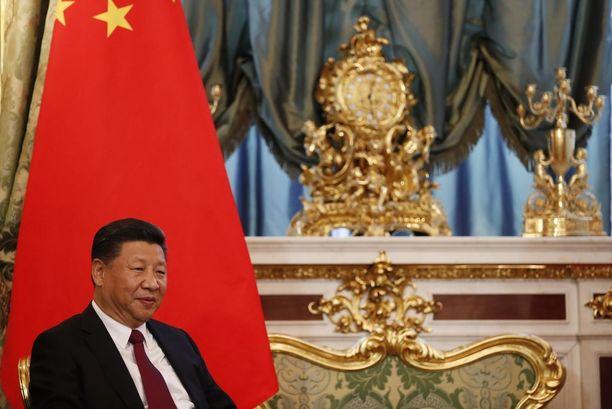 Kiinan presidentti Xi Jinping nousi valtaan vuonna 2013.