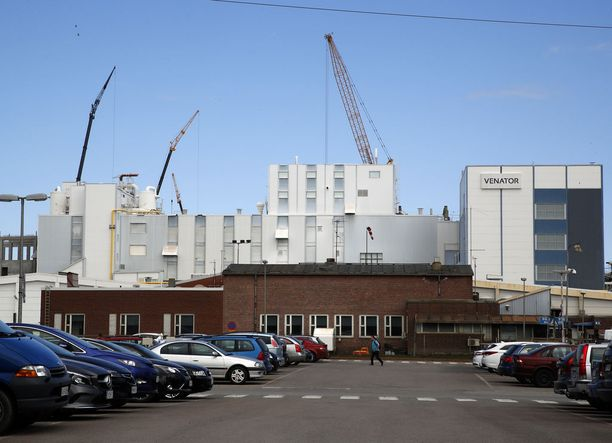 Jälleenrakennustyöt lopetetaan Porin pigmenttitehtaalla.