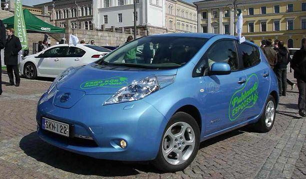 Sähköautojen kannatus on suurinta Helsingissä ja muissa suurissa kaupungeissa.