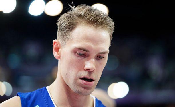 Petteri Koponen pelasi huikean Kreikka-ottelun.