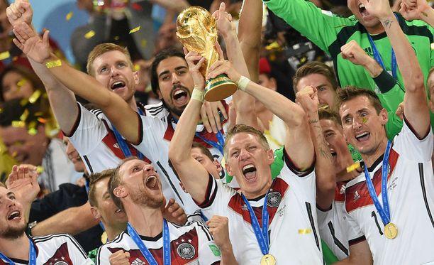 Millä stadionilla Saksa juhli maailmanmestaruutta vuonna 2014?