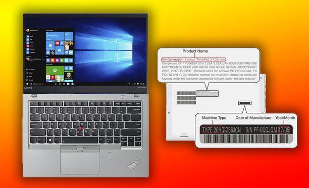 Paloturvariski koskee Lenovon Thinkpad x1 Carbon -tietokoneita.