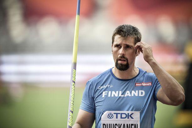 Antti Ruuskasen olympialaisiin oikeuttava noteeraus on peräisin vuodelta 2019.