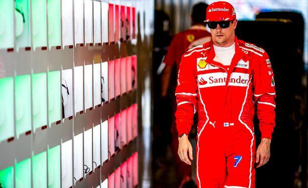 Kimi Räikkönen pitää vauhdista myös vapaa-ajallaan.