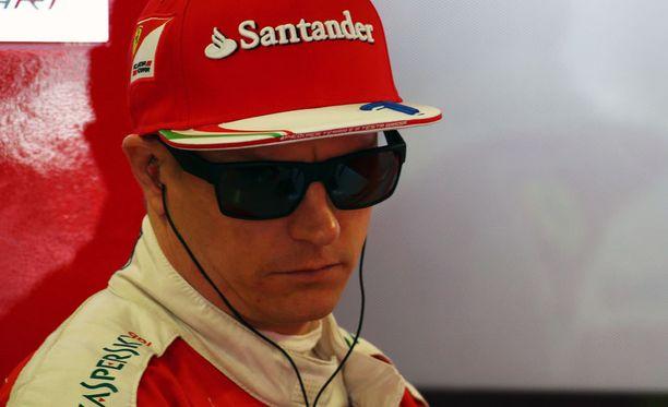 Kimi Räikkönen kaasutteli Venäjällä kolmanneksi
