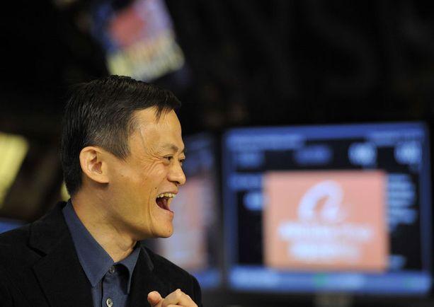 Viime viikon perjantaina Alibaba-konsernin perustajalla oli hymy herkässä.