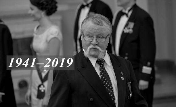 Jorma Kinnunen kuoli torstaina.