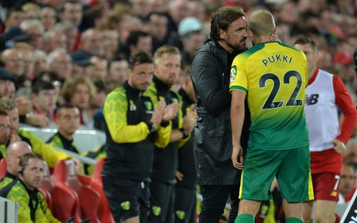"""Norwich Cityn valmentaja: """"Teemu Pukki myydään vain tyhmällä tarjouksella"""""""