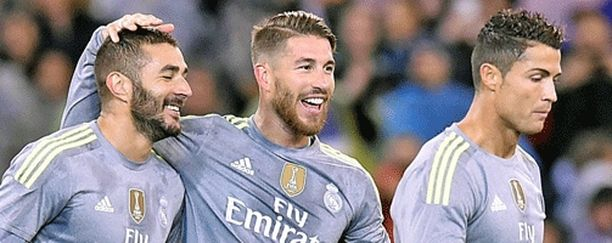 Karim Benzemaa, Sergio Ramosia ja Cristiano Ronaldoa on riepoteltu siirtohuhuissa, mutta trio on vielä Madridissa.