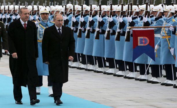 Venäjän presidentti Vladimir Putin vieraili Turkissa muutama päivä sitten ja tapasi maan presidentin Recep Tayyip Erdoganin Ankarassa.