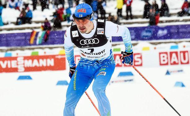 Ristomatti Hakola selvisi ainoana suomalaisena sprintin finaaliin.