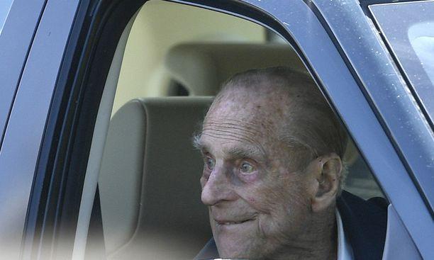 Prinssi Philip on tuttu näky auton ratissa.