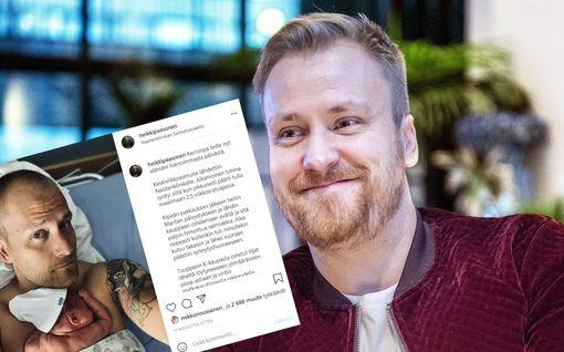 Heikki Paasosen ja Marita Alatalon vauva syntyi – katso herkät yhteiskuvat esikoisen kanssa