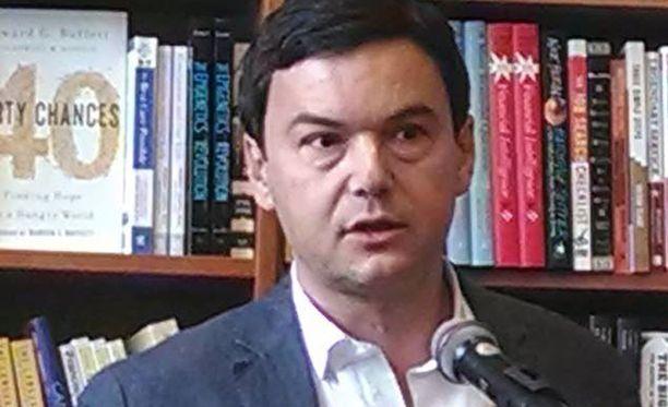 """Professori Thomas Pikettyn kirja """"Pääoma 21. vuosisadalla"""" on avannut varsinkin Yhdysvalloissa vilkkaan keskustelun tuloeroista."""