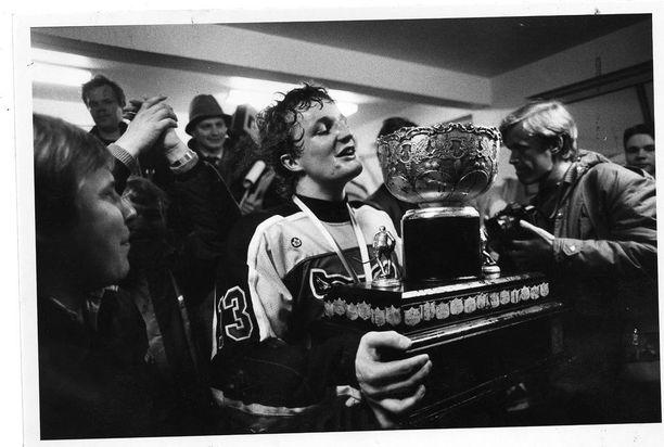 Risto Jalo oli Ilveksen sankari vuonna 1985, kun joukkue viimeksi voitti SM-kultaa.