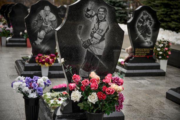 44 ihmistä menetti henkensä Jaroslavlin lentoturmassa 7. syyskuuta 2011.
