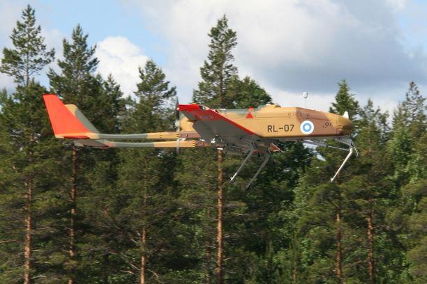Tältä miehittämätön Ranger-tiedustelulennokki näyttää ilmassa.