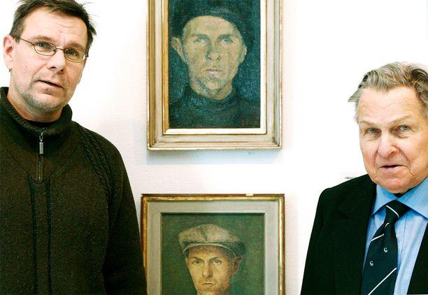 Kirjailija Hannu Raittila oli Tapanin poika.
