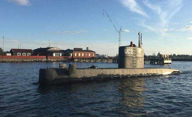Sukellusveneen Madsenin kanssa rakentanut Jens Falkenberg kertoo, että luukun kaatuminen päähän voisi aiheuttaa kuoleman.