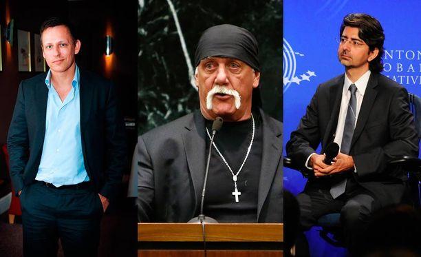 Peter Thiel (vas.), Hulk Hogan ja Pierre Omidyar ovat kaikki sotkeutuneet samaan oikeusjuttuun.