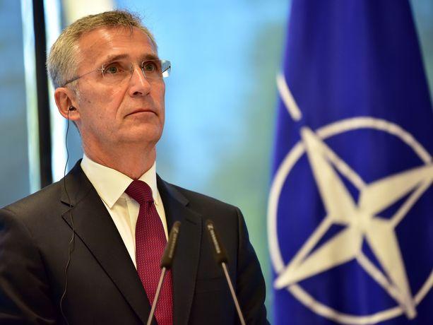 Naton pääsihteeri Jens Stoltenberg painottaa Naton pysyvän Euroopan puolustuksen perustana myös jatkossa.