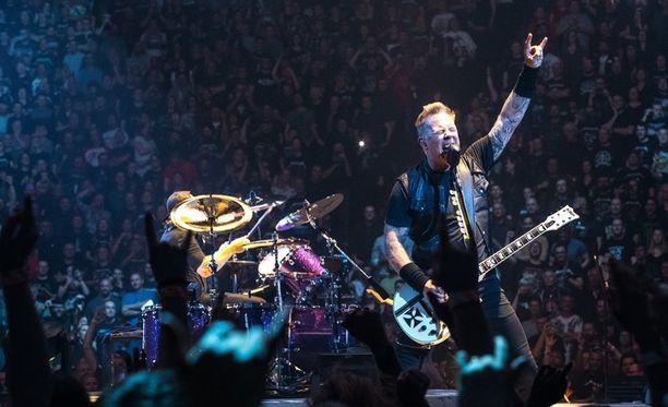 James Hetfieldin tunnistettava lauluääni ja kitarasoundi ovat Metallican ikuinen kivijalka.