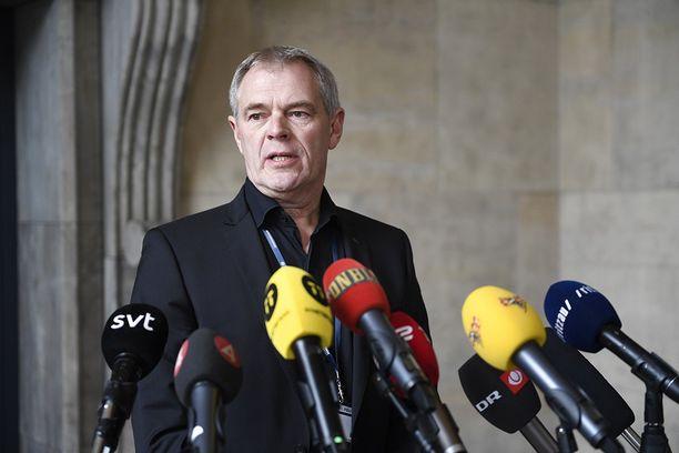 Jens Møller kertoi uusista löydöistä tiedotustilaisuudessa lauantaiaamuna Kööpenhaminassa.