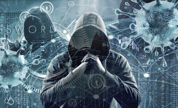 Kyberhyökkäys voi vaarantaa eri toimintoja. Kuvituskuva.