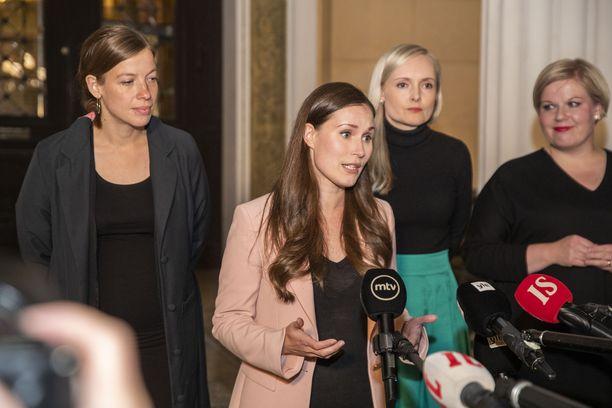 Li Andersson (vas.), Sanna Marin, Maria Ohisalo ja Annika Saarikko ovat kaikki vastanneet Iltalehden kuntavaalikoneeseen.
