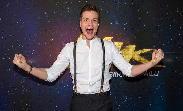 Mikael Saari osallistuu UMK-finaaliin kappaleella On It Goes.