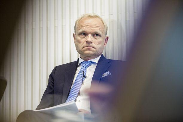 Fortumin toimitusjohtaja Pekka Lundmark nosti 2,3 miljoonan tuloistaan 1,4 miljoonaa pääomatuloina.