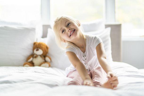 Oi mikä ihana aamu - kunhan herätys on oikeaan aikaan!