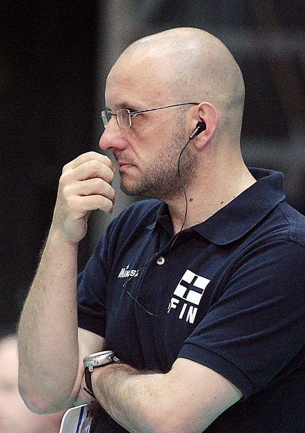 Mauro Berruto valmensi maajoukkuetta vuodesta 2005.