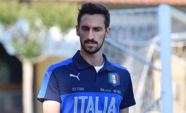 Davide Astori kuoli täysin yllättäen vain 31-vuotiaana.